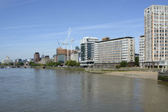 River Thames at Vauxhall, London, England Stock Images