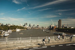 The River Thames Royalty Free Stock Photography