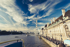 River Thames Royalty Free Stock Photography
