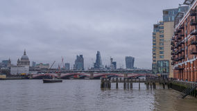 River Thames view Royalty Free Stock Photo