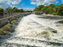 River Thames Weir Stock Photography