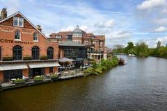 River Thames in Windsor, Berkshire, UK Stock Photos