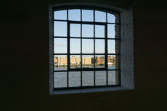 River Thanmes Wapping, London buildings Stock Image