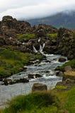 River at Thingvellir national park near Thingvallavatn lake Stock Photography