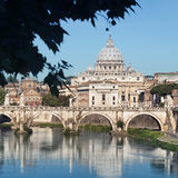 River Tiber, Rome - Italy Stock Photos