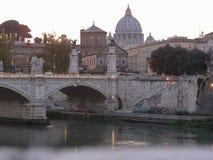 River Tiber in Rome. ROME, ITALY - CIRCA OCTOBER 2018: River Tiber (Fiume Trevi stock photography