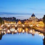 River Tiber, Rome - Italy Stock Photos