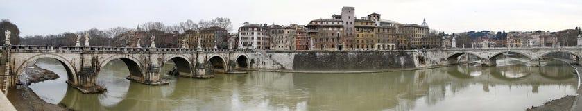 River Tiber in Rome, Italy Stock Photo