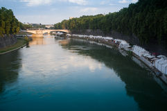 The river Tiber in Rome Stock Images