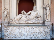 River tiber sculpture in Vatican museum Stock Photography