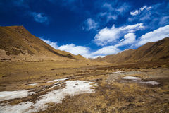 River in tibet Royalty Free Stock Photography