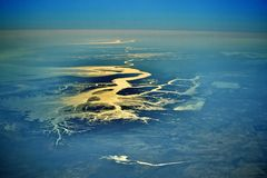 River tigri delta Royalty Free Stock Image