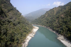 River Tista Royalty Free Stock Images