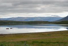 River To Akureyri In Iceland Royalty Free Stock Photography