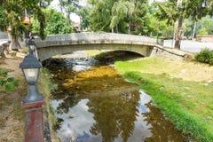 River Topolnitsa in Bulgarian Koprivshtitsa Royalty Free Stock Photography