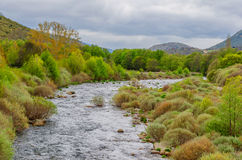 River tormes Gredos Royalty Free Stock Photos