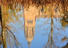 The River Tormes, Salamanca, Spain. Royalty Free Stock Image
