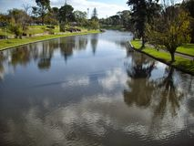 River Torrens. Photo of the river torrens Stock Photography
