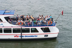 River tourist boat Stock Images