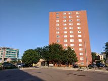 River Tower Appartments. Apaetment building in Sioux Falls, South Dakota Stock Photo