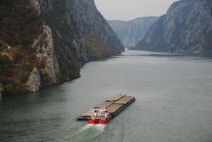 River Transporter Royalty Free Stock Images