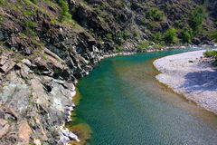 River Trebbia Royalty Free Stock Photography