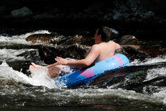 River Tubing Royalty Free Stock Images