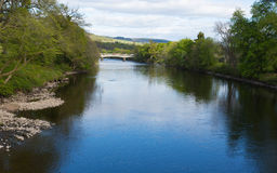 River Tummel Pitlochry Scotland UK in Perth and Kinross popular tourist destination in summer Stock Images