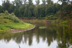 River turn Stock Image