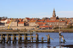 River Tweed, Berwick-upon-Tweed from Tweedmouth Royalty Free Stock Image