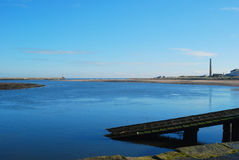 River Tweed estuaryto Spittal Royalty Free Stock Photos