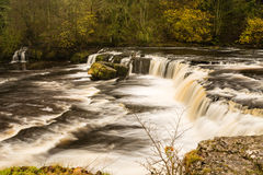 River Ure at Aysgarth Falls Royalty Free Stock Images
