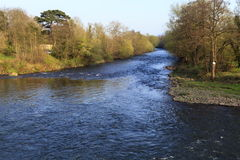 The River Usk Royalty Free Stock Images