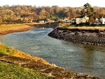 River Usk Royalty Free Stock Images