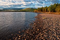 River Uur in Mongolia Royalty Free Stock Image