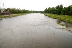 River in Uzhgorod, Ukraine Stock Photo