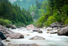 River valley Royalty Free Stock Photo