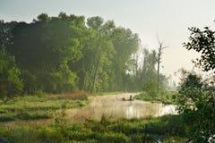 River Valley Stockbild