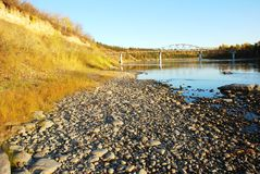 River Valley Royaltyfria Foton