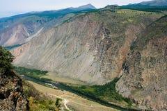 River Valley Chulyshman Photos libres de droits