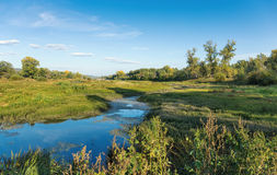 River valley in the countryside Stock Photography