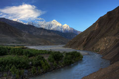 River Valley Kaligandaki images libres de droits