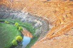 River Valley maravilloso Foto de archivo libre de regalías