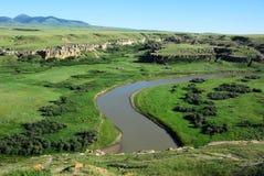 river valley mleka obrazy royalty free