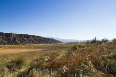 River Valley no nanowatt em Argentina Imagens de Stock Royalty Free