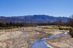 River Valley no nanowatt em Argentina Imagem de Stock