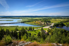 River valley Royalty Free Stock Photography