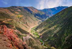 River valley in Yunnan Stock Images