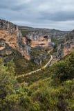 River Vero in Guara mountain range. Huesca Royalty Free Stock Photos