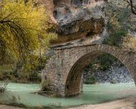 River Vero in Guara mountain range. Huesca Royalty Free Stock Photo